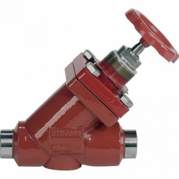 Danfoss Shut-off valves 148B4607 STC 32 A ANG  SHUT-OFF VALVE HANDWHEEL #2 image